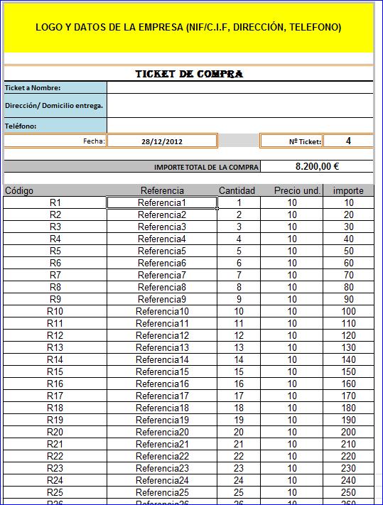 Ticket Compra
