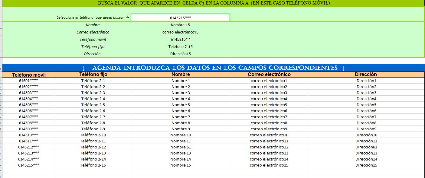 Plantilla para localizar registros en base de datos (2)